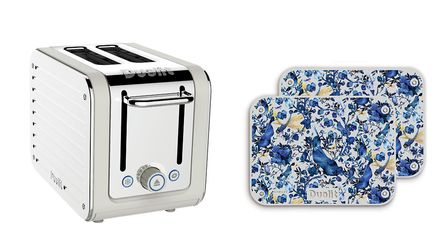 Architect 2-slice Toaster, 85.99 and the Kit Miles Toaster Panel Packs, Biophilia, 24.95, available