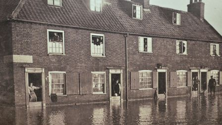 The floods of 1953 contributed to the decline of the fishing village. Picture: Mick Howes