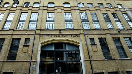 Springfield House in Tyssen Street. Picture: Polly Hancock