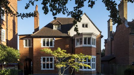 The property was built by 19th Century architect Horace Field in an Arts and Crafts style