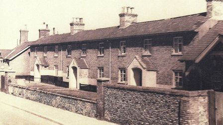 Fishing village houses that were once situated on Whapload Road. Picture: Mick Howes