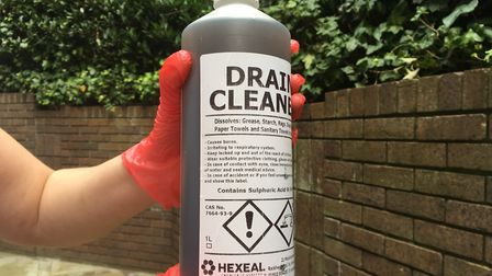 Islington Council is trying to control sales of corrosive substances in the borough's shops. Picture