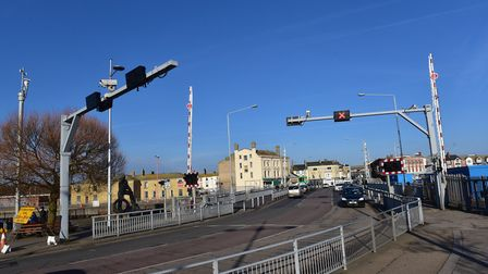 Work will be carried out to replace the lifting motor on the Bascule Bridge. Picture: Nick Butcher.
