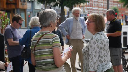 Hornsey Pensioners Action Group member Janet Shapiro said retired people are anxious about the priva