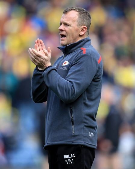 Saracens director of rugby Mark McCall (pic: Mike Egerton/PA)