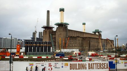 Mr Khan was outraged when the Battersea Power Station development cut its number of affordable homes