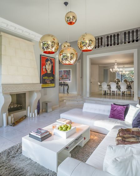 This property on Elm Tree Road with Aston Chase is on the market for �7,950,000. The Stamp Duty will