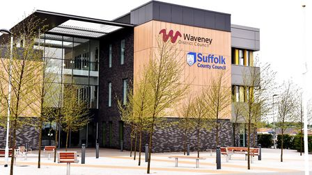Waveney District Council's Riverside offices. Picture: Archant library.
