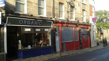 The owner of Organic said the squatters were 'no trouble' Picture: Cameron Charters