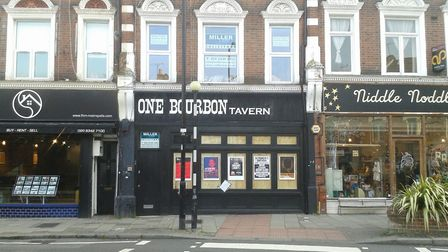 The One Bourbon Tavern was recently evicted of squatters as well Picture: Cameron Charters