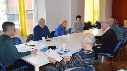 The café is an informal setting and welcomes participants of all abilities. Picture: Courtesy of Lee