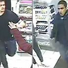 Police are looking for these two men Picture: MPS