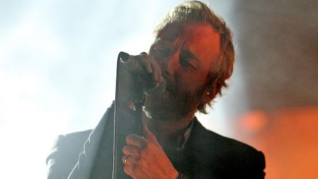 The National, whose singer Matt Berninger is pictured at Latitude festival in 2011, are among All Po