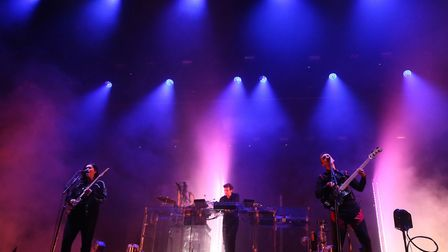 The xx perform at the Electric Picnic festival in Stradbally, County Laois. The band are among headl