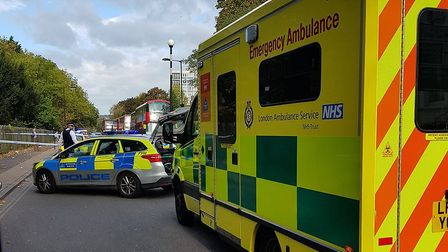 Police officers from @MPSHackney advised motorists to avoid the area after the accident.