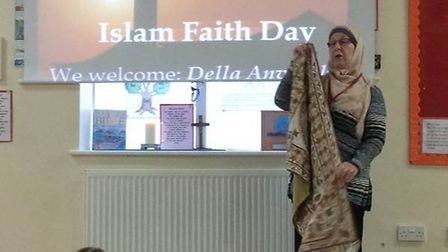 A talk and activities took place at the whole school Islam Day at Corton Primary School. Pictures: J
