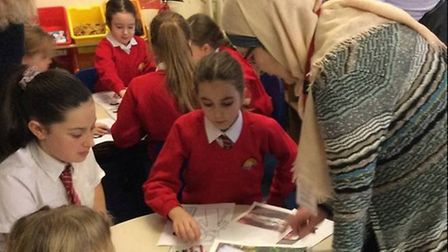 Activities took place at the whole school Islam Day at Corton Primary School. Pictures: Jemma Dalley