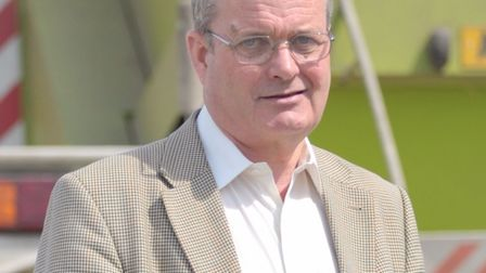 James Finch is standing down from Suffolk's cabinet. Picture: SARAH LUCY BROWN.