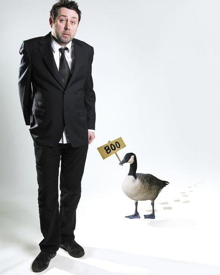 Sean Hughes promoting his tour Ducks And Other Mistakes I've Made in 2010. Picture: ARCHANT