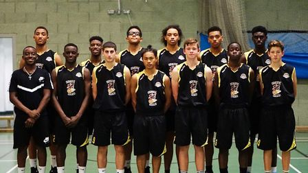 Haringey Hawks under-16s won their opening game of the season (pic Robbie Quail)