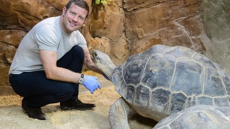 Dermot O'Leary launches his first children's book at ZSL London Zoo