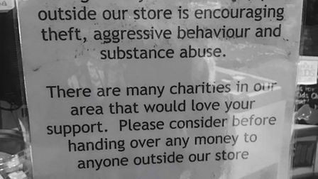 The poster in Whole Foods Stoke Newington.