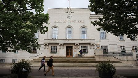 Hackney Town Hall. Picture: Isabel Infantes