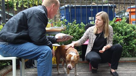 An open day event at the Greenhouse, where people are encouraged to bring their pets along. Picture: