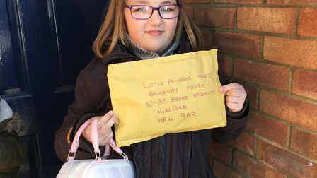Shelby later sent her hair off to the Little Princess Trust. Picture: Sally-Anne Goldsmith