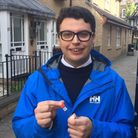 Hamish Hunter is a Conservative candidate in the forthcoming Camden Council elections. Picture: HAMI