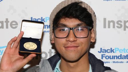 Worldwrite member Danish Khairul. Photo by the Jack Petchey Foundation.