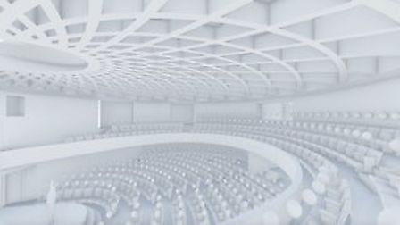 What the 450 seater auditorium may look like Picture: Nia PR