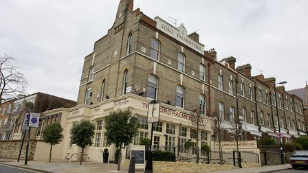 The Lord Palmerston in Dartmouth Park Hill.