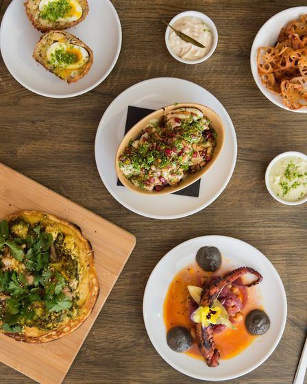 Dishes at Pickled Fred. Picture: Cedric Tosoni