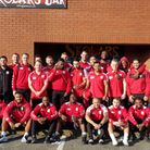 London Skolars face thew camera ahead of their trip to Hunslet for the Kingstone Press League One Sh