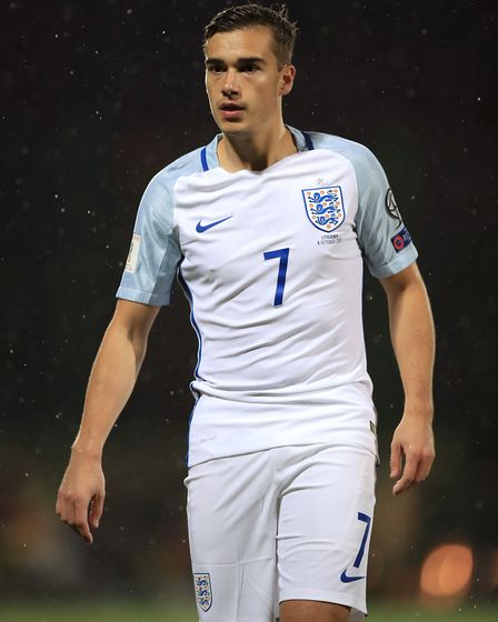 Tottenham's Harry Winks made his senior England debut in Lithuania (pic Mike Egerton/PA)