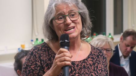 Dr Angela Burnett, former GP at Well Street's Greenhouse practice, launched the groups fundraising