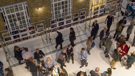 The launch of Hackney: portrait of a community 1967 � 2017 at the town hall. Picture: Simon Mooney