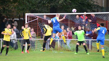 Action from the match between Hackney Wick and Clapton (pic Tim Edwards)