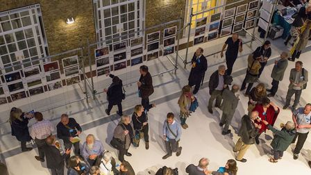 The launch of Hackney: portrait of a community 1967  2017 at the town hall. Picture: SIMON MOONEY