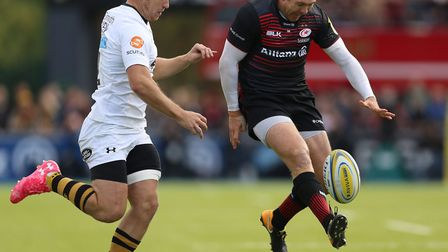 Action from Saracens match with Wasps at Allianz Park (pic David Davies/PA)