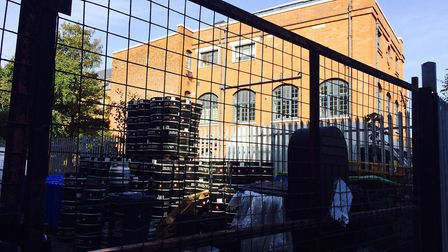 East Side Academy, the neighbouring buiilding to Five Points brewery in Institute Place. Picture: Em