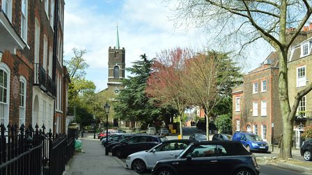 House hunters will expect to pay a premium of £307,775, or 29 per cent, for a home in NW3.
