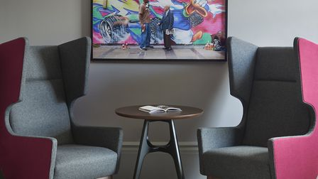 A newly refurbished room at the Andaz Hotel in Liverpool Street