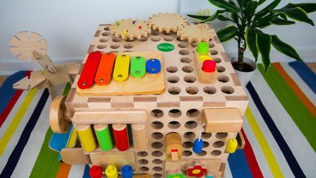 One of the Muro wooden learning tools for children