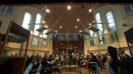 Inside Air studios one of the only British recording studio to hold a full orchestra Picture: Dan Pi