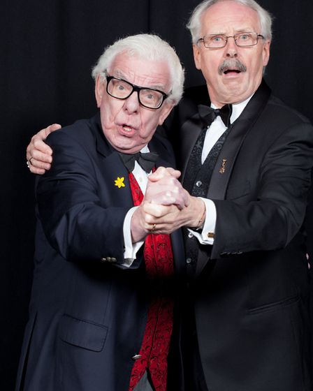 Barry Cryer and Colin Sell will be performing alongside each other at the Southwold Arts Festival