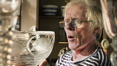 Antiques Roadshow expert Andy McConnell will host a talk on wine and the vessels used to drink it at