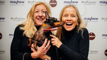 Barking Blondes Jo Good and Anna Web