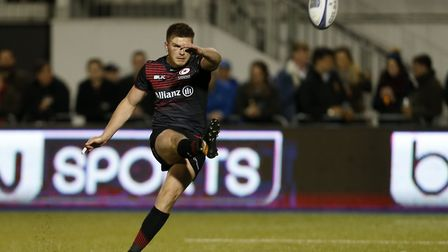 Owen Farrell is one of seven Saracens players in the England squad for the Autumn Internationals (pi